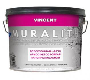 Vincent Muralith F1 / Винсент Муралит Ф1 краска плиолитовая всесезонная